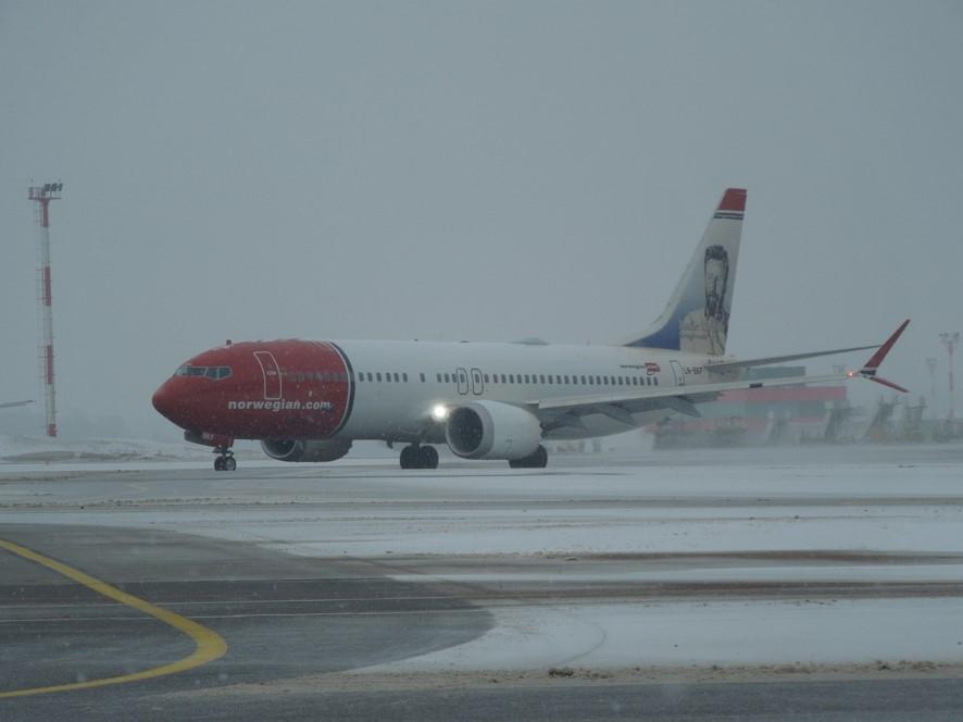 ノルウェージャン航空のB737MAX