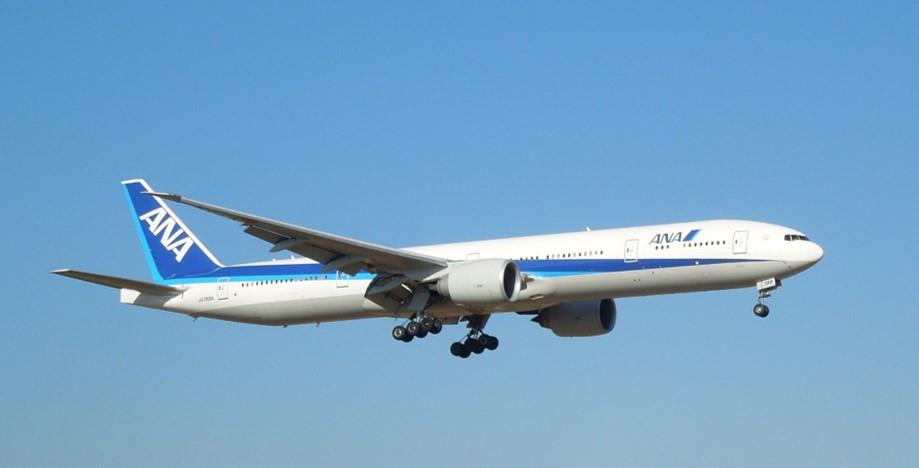 飛行機の例(ジェット旅客機)