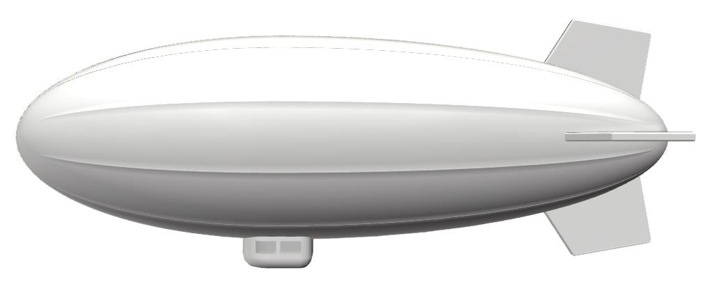 飛行船のイメージ