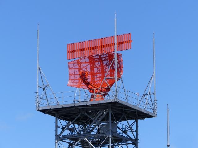 ターミナルレーダーアンテナの画像