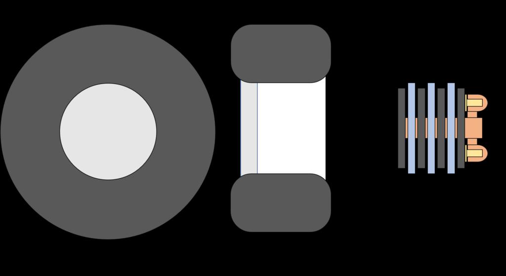 ホイールの構造