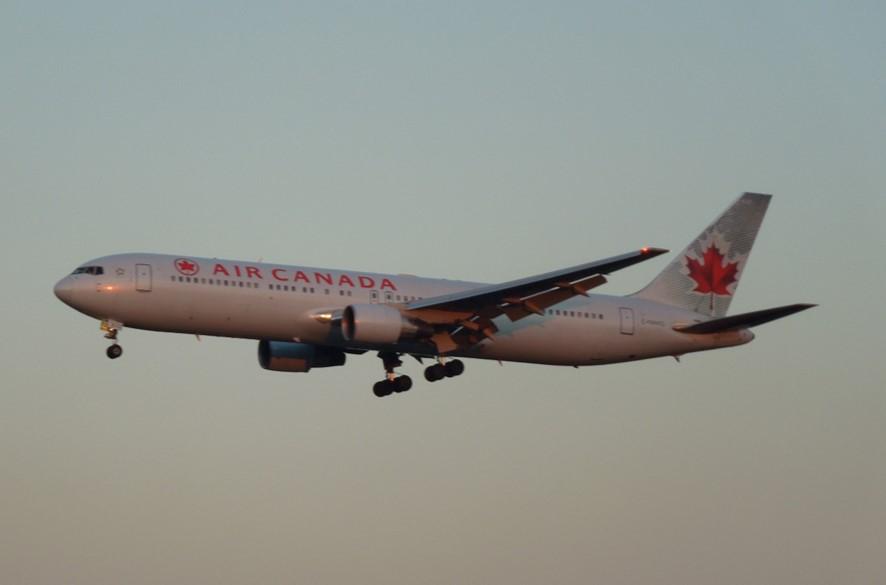エアカナダのB767