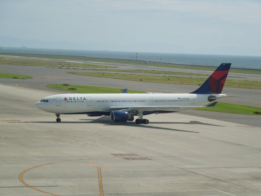 デルタ航空のA330-200の画像