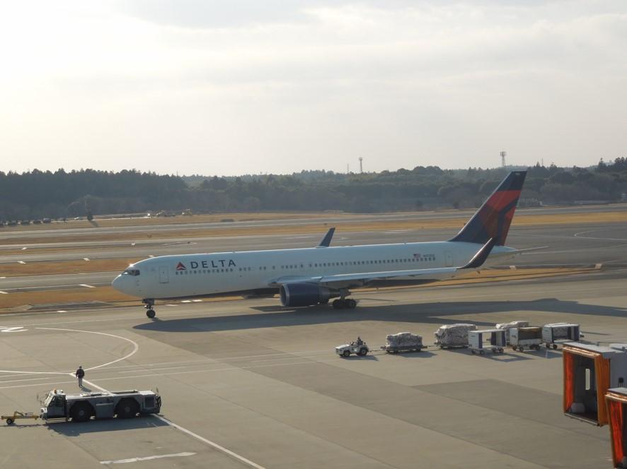 デルタ航空のB767