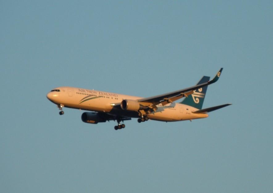 ニュージーランド航空のB767