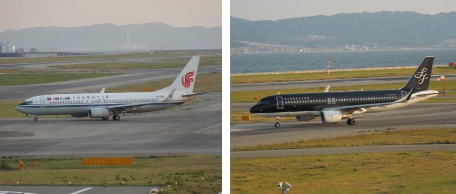 B737とA320の比較画像