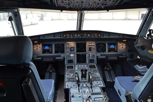 A320のディスプレイ