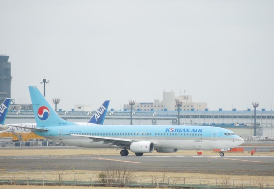 大韓航空のB737-900