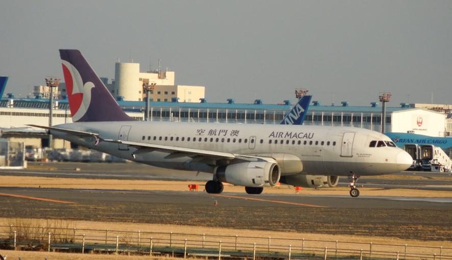 エアマカオのA319画像