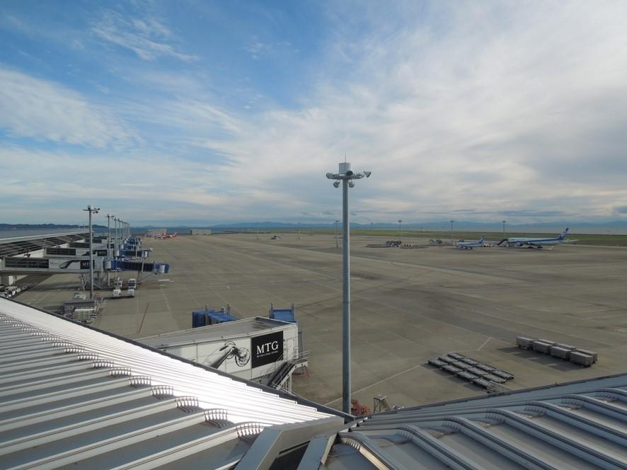 セントレア空港国際線スポット