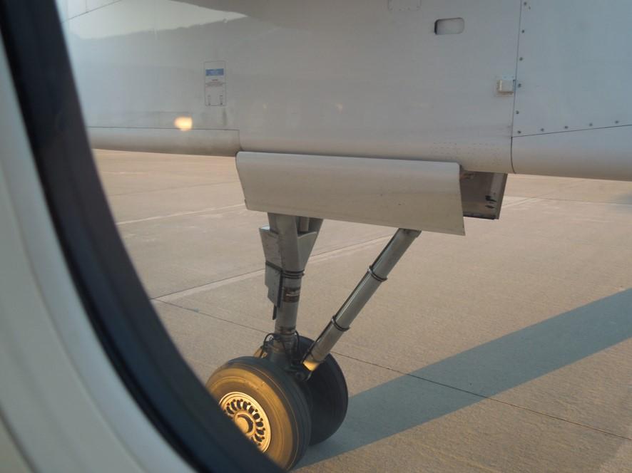 Q400のメインランディングギア