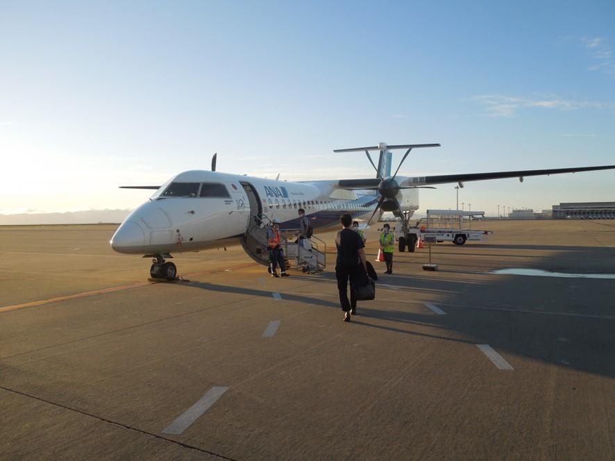 Q400へ搭乗