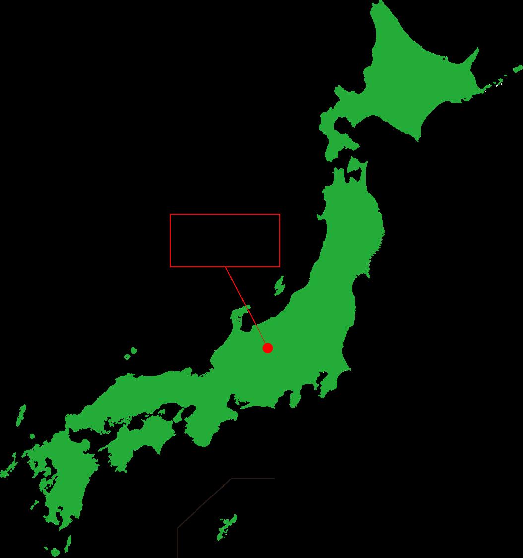 松本空港の場所