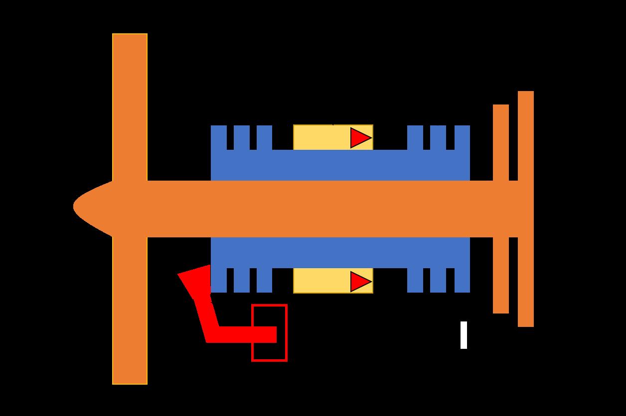 ターボファンエンジンの全体イメージ