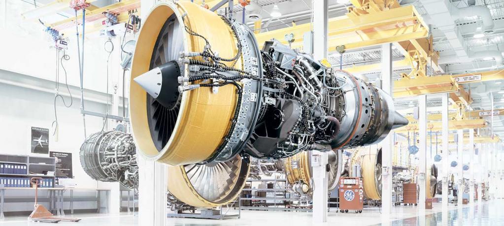 ジェットエンジンの実物例