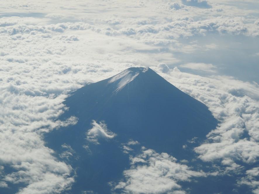 富士山山頂の様子