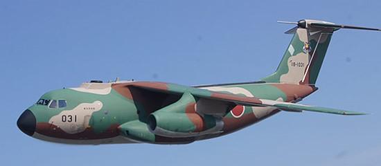 下半角を持つ飛行機の画像
