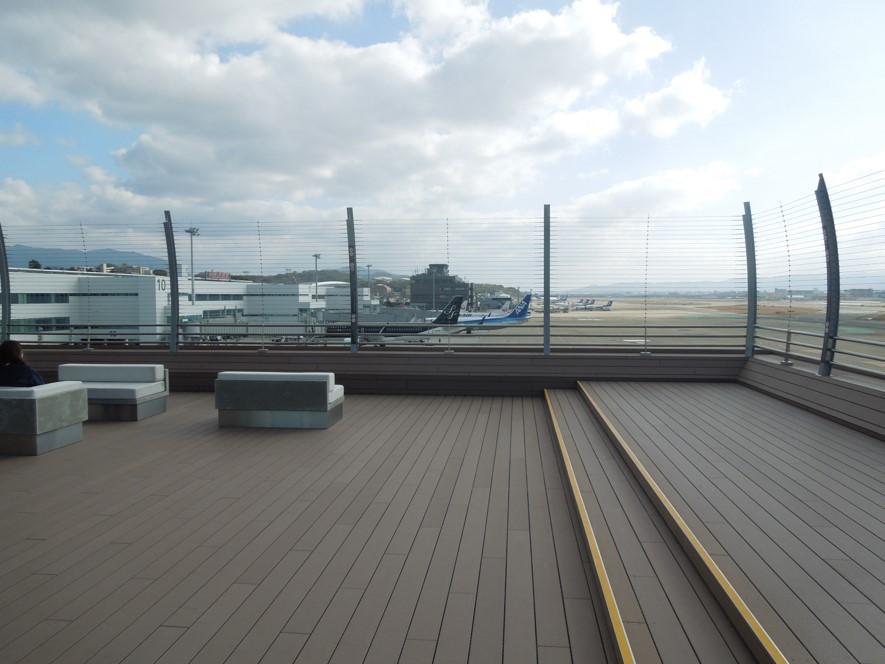 展望デッキ3Fからの眺め(南側)