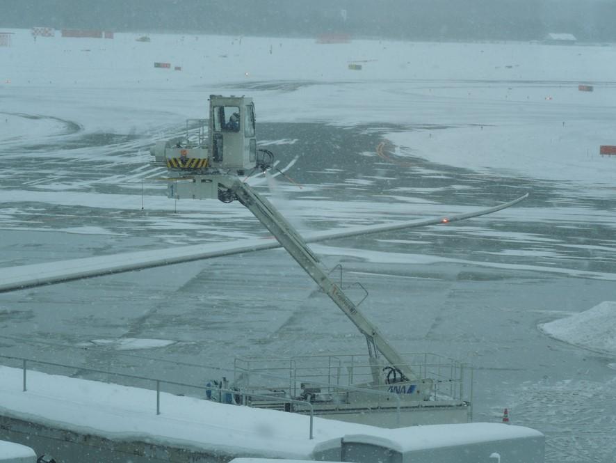 防雪氷作業中の画像